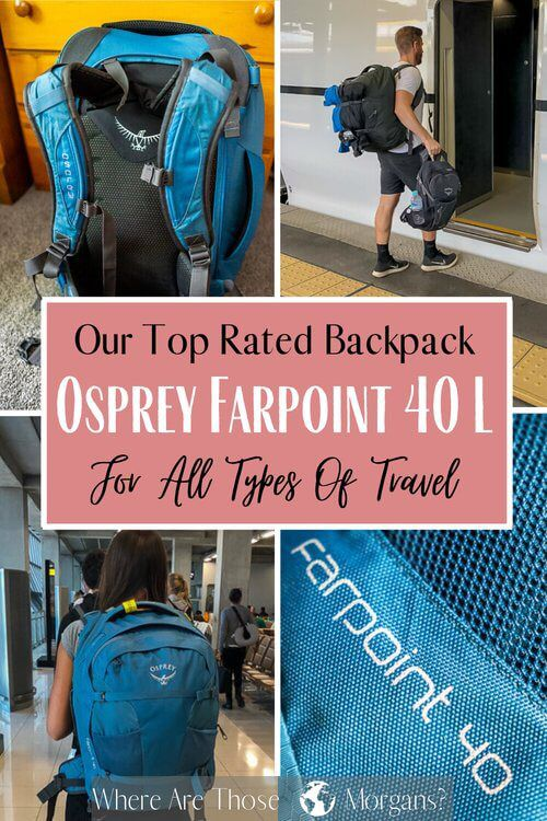 Our Top Rated Backpack Osprey Farpoint 40 For All Types of Travel