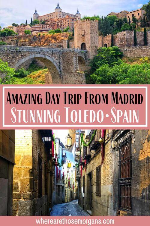 Amazing day trip from Madrid stunning Toledo Spain