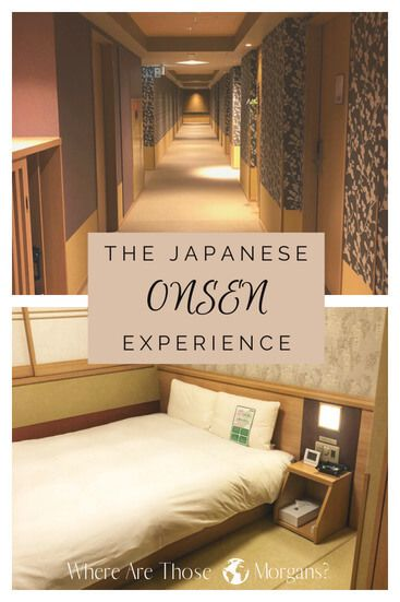 what to expect Japanese Onsen pinterest graphic