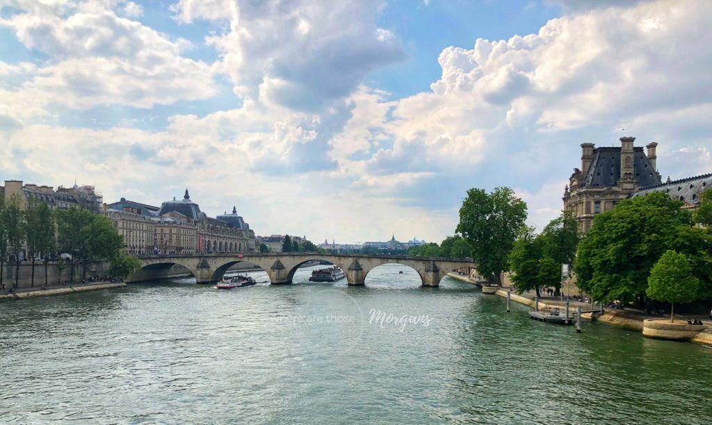 Architecture along the River Seine in Paris