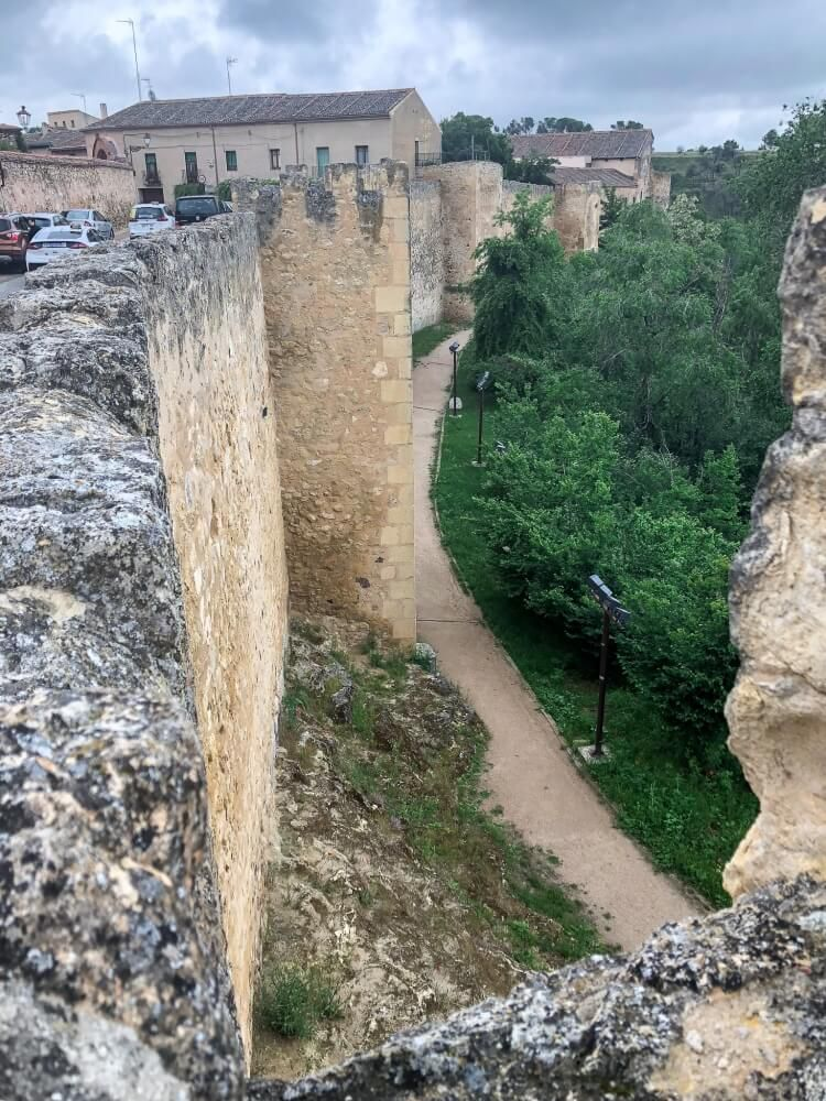 city walls made out of stone