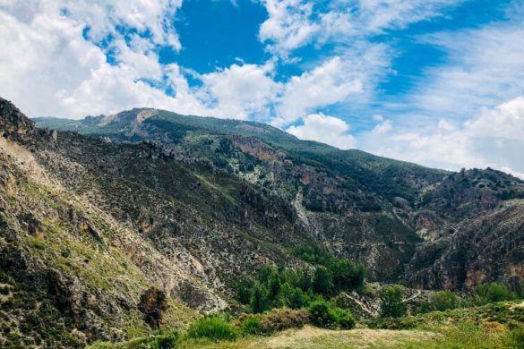 Amazing view of Los Cahorros Monachil