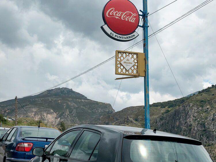 El Puntarron restaurant sign