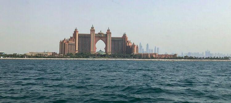 A view of the Atlantis resort in Dubai