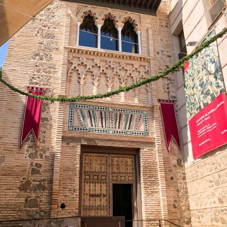 Moorish church entrance doors