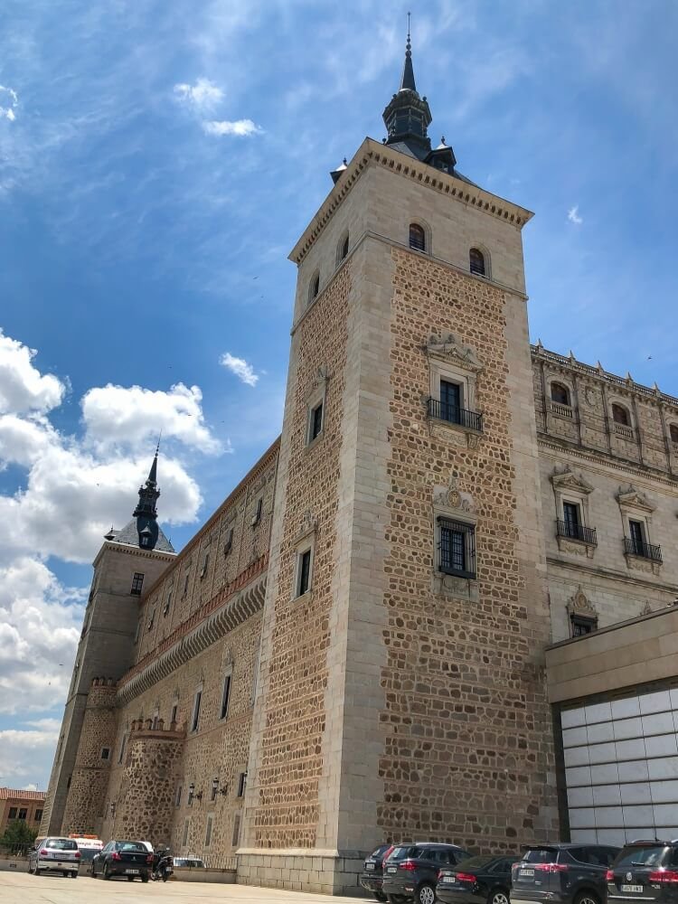 The Toledo Alcazar and army museum