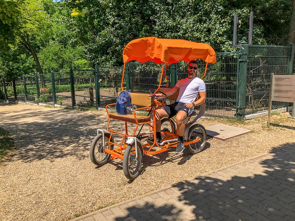 Quad cart rentals Margaret Island