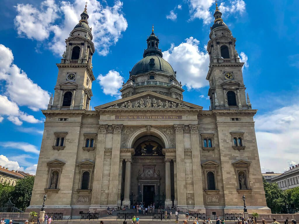St Stephens Basilicia in Budapest
