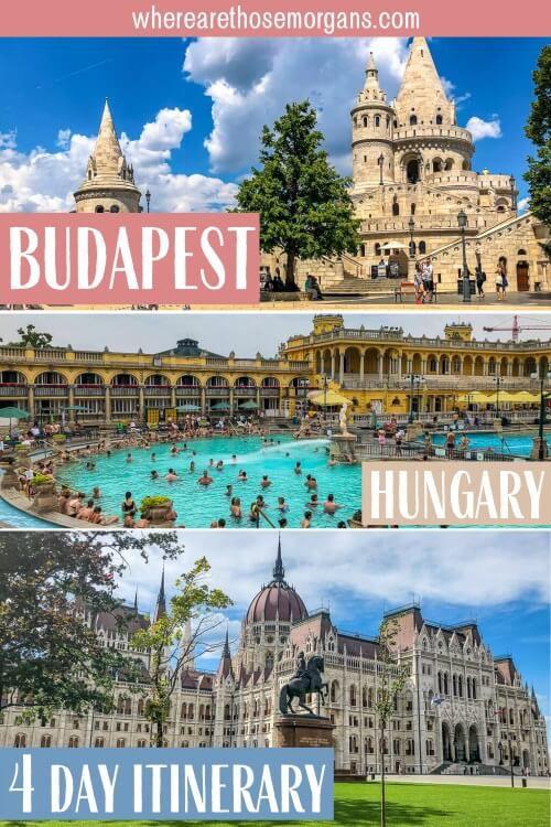 Budapest Hungary An Amazing 4 Days Itinerary Travel Guide