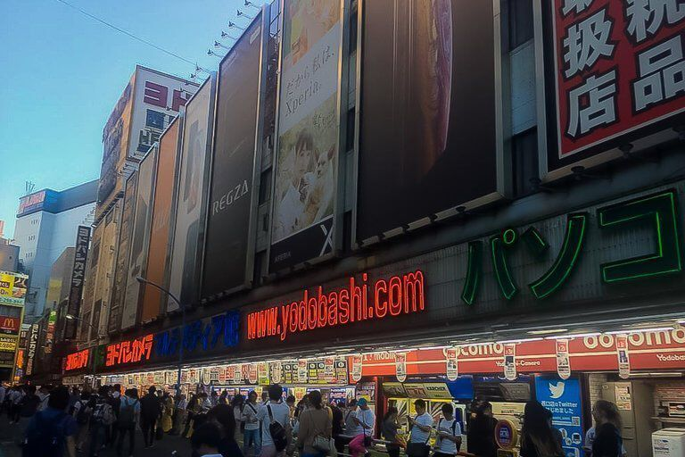 Buy camera Japan Yodobashi camera store in tokyo Japan