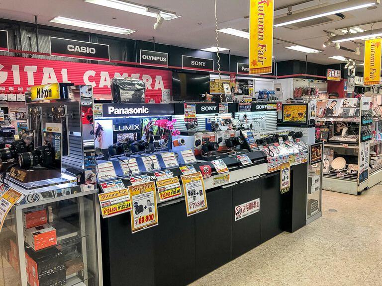 digital camera store Akihabara tokyo