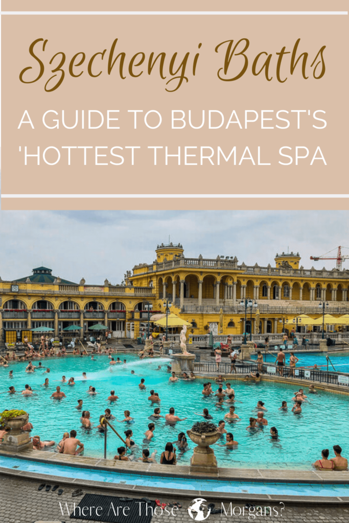 Szechenyi Thermal Baths Pinterest Graphic