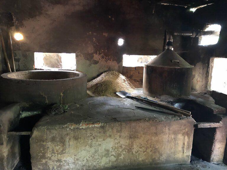 Kiln for fermenting rice wine in Vietnam