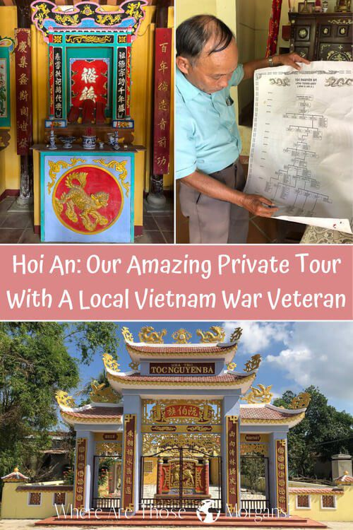 Hoi An: Our Amazing Private Tour With A Local Vietnam War Veteran