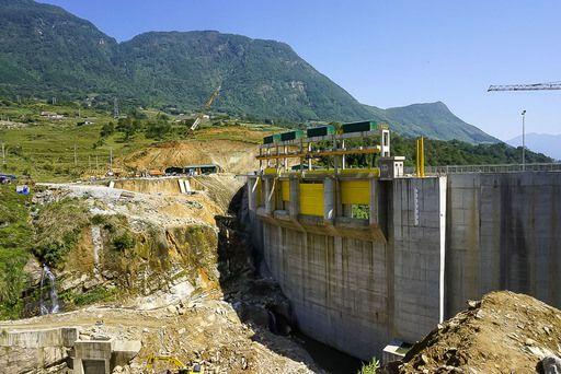 dam being built in sapa valley vietnam