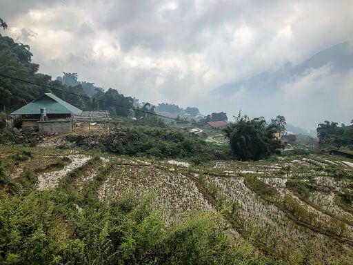 village in sapa valley homestay trekking tour