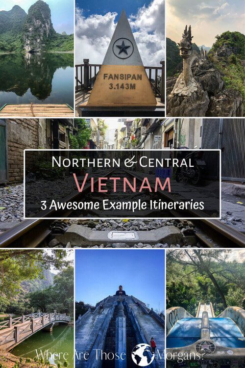 Northern and Central Vietnam 3 perfect example itineraries