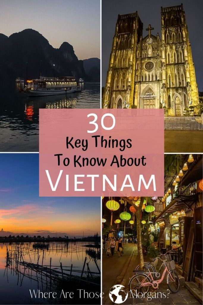 30 key things to know about vietnam