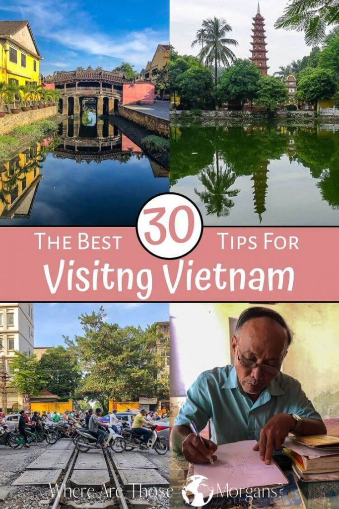 The best 30 Tips for visiting Vietnam