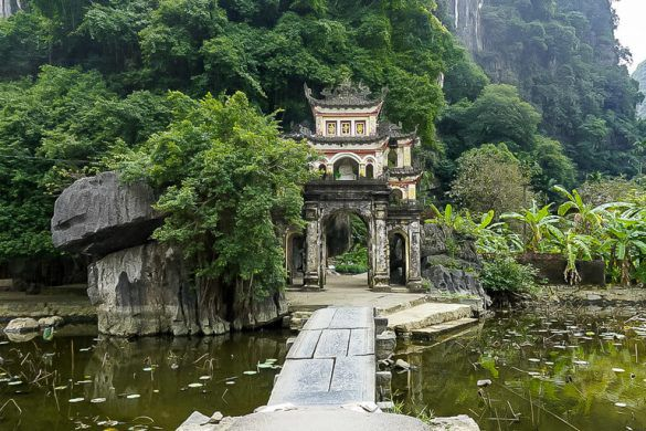 Bich Dong Pagoda in Tam Coc is one of 30 things to know about Vietnam