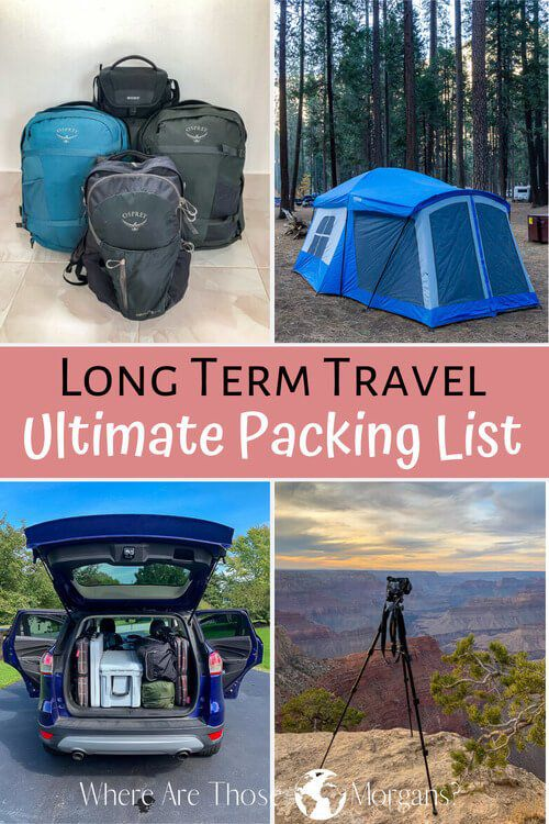 Travel Long Term The Ultimate Packing List