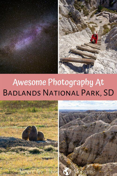Awesome photography at badlands national park
