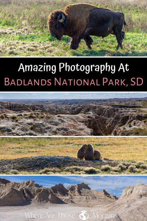 Amazing photography at badlands national park