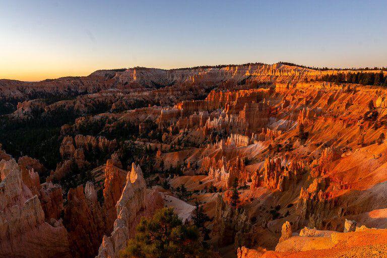 Bryce Canyon Sunrise America the Beautiful national park pass