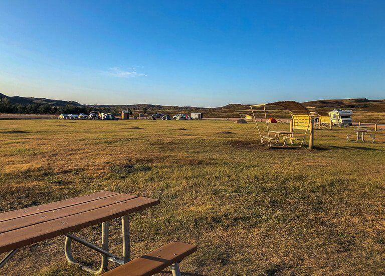 Sage creek campground badlands national park
