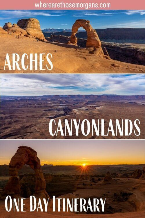 Arches and Canyonlands in One Day itinerary