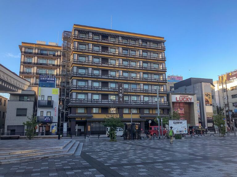 Onyado Nono Onsen Ryokan hotel with traditional hot spring in Nara Japan Stay here on a 2 day itinerary