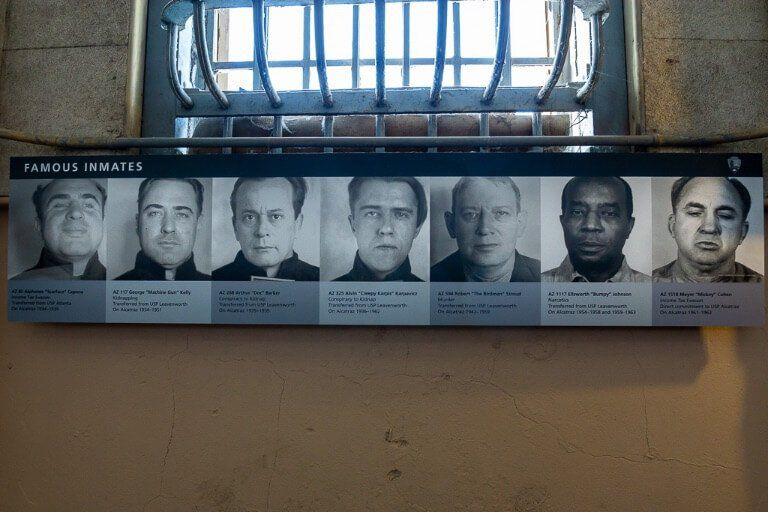 Alcatraz Tour San Francisco Is it Worth It Money and Time? Most notorious inmates of the prison