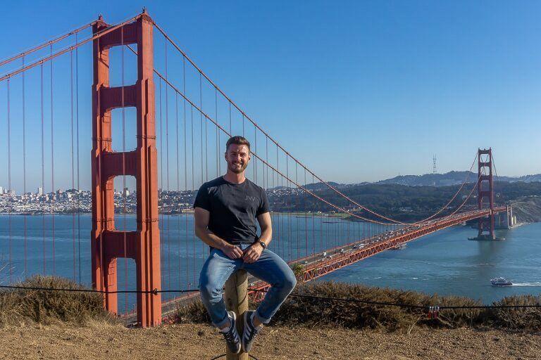 Mark at battery Spencer San Francisco