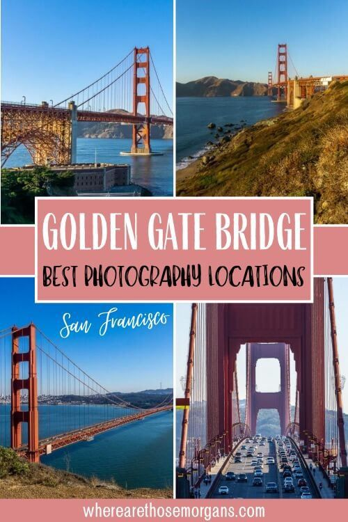 Golden gate bridge best view photography locations