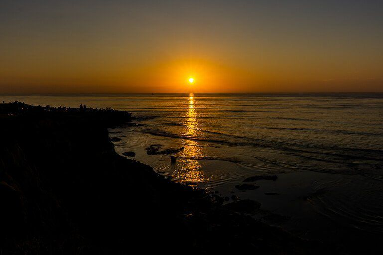San Diego three day itinerary first time visitor vacation guide sunset cliffs one of the best things to do in San Diego California