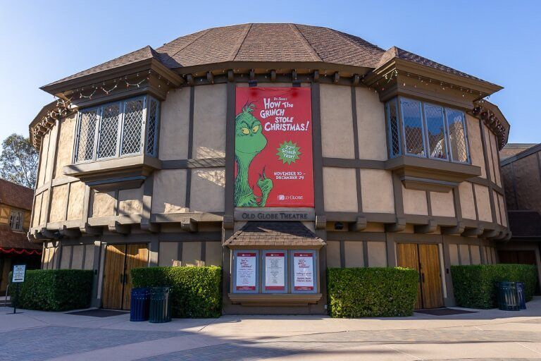 San Diego itinerary the old globe theater balboa park