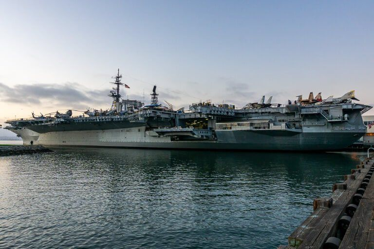 USS Midway museum San Diego harbor best things to do in San Diego