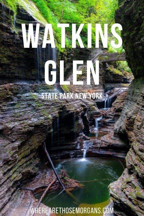 Watkins Glen State Park New York