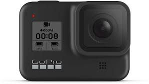 GoPro Hero8 Black action camera for adventure activities and recording