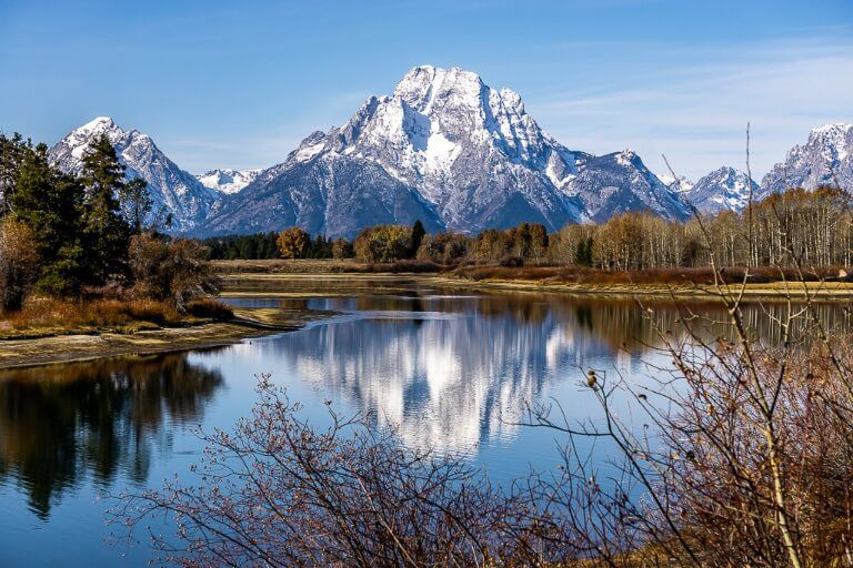 Photography at oxbow bend in grand teton national park one of best things to do