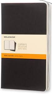 Soft cover notebooks for taking notes or drawings when traveling