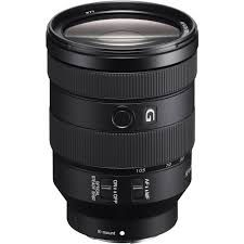Sony FE 24-105mm f4 G Lens for use as a workhorse general go to lens