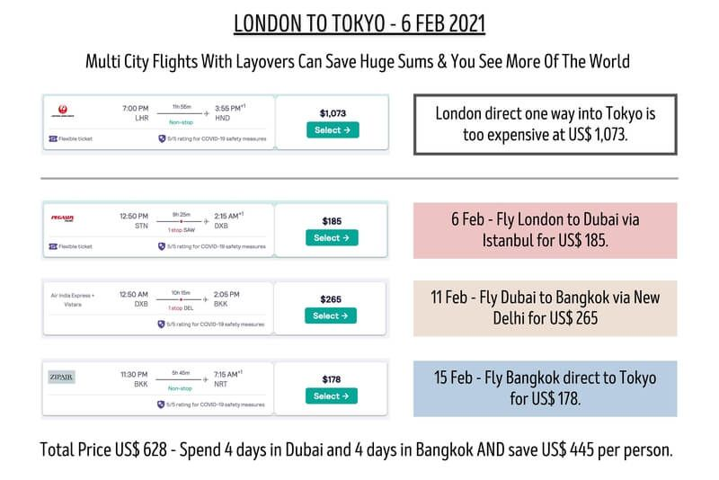 finding and booking cheap flights doesn't get any more exciting than multi city flight tickets plan a route around the world with multiple stops to get cheaper airfares than going direct on long haul travel