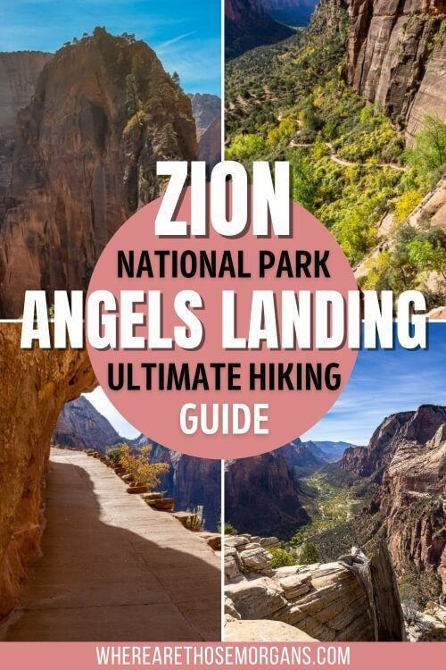 Angels Landing Zion National Park Ultimate Hiking Guide