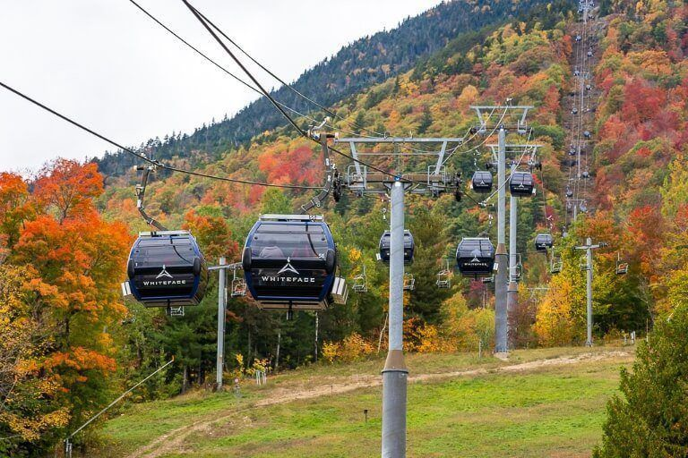 Cloud splitter gondola ride to little whiteface is one of the best things to do in lake placid new york