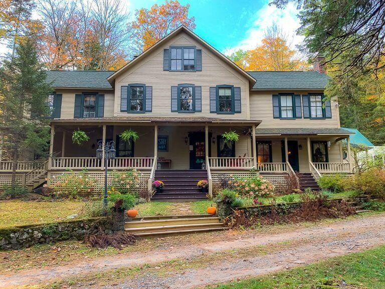 Snow Goose bed and breakfast top hotel accommodation recommendation near mount marcy hike in lake placid keene valley new york