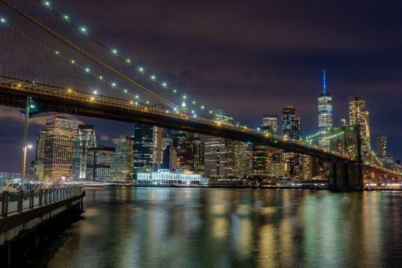 Brooklyn Bridge at Night Best Photography Locations FAQ's Safety Walk Over The Bridge