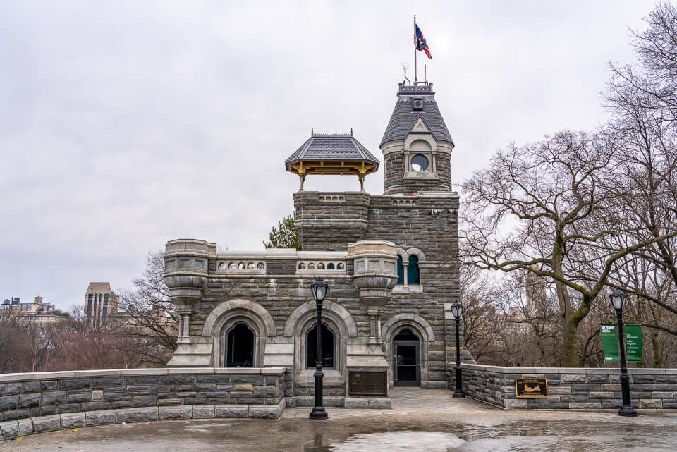 Belvedere Castle one of the best places to visit on a dull day in new york city