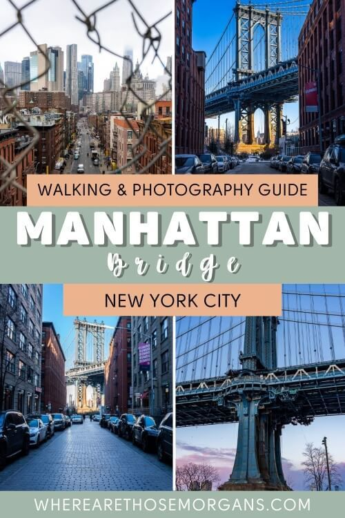 Walking and photography guide manhattan bridge new york city
