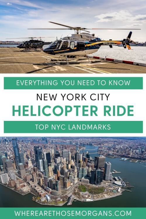 Everything you need to know about new york city helicopter ride top nyc landmarks